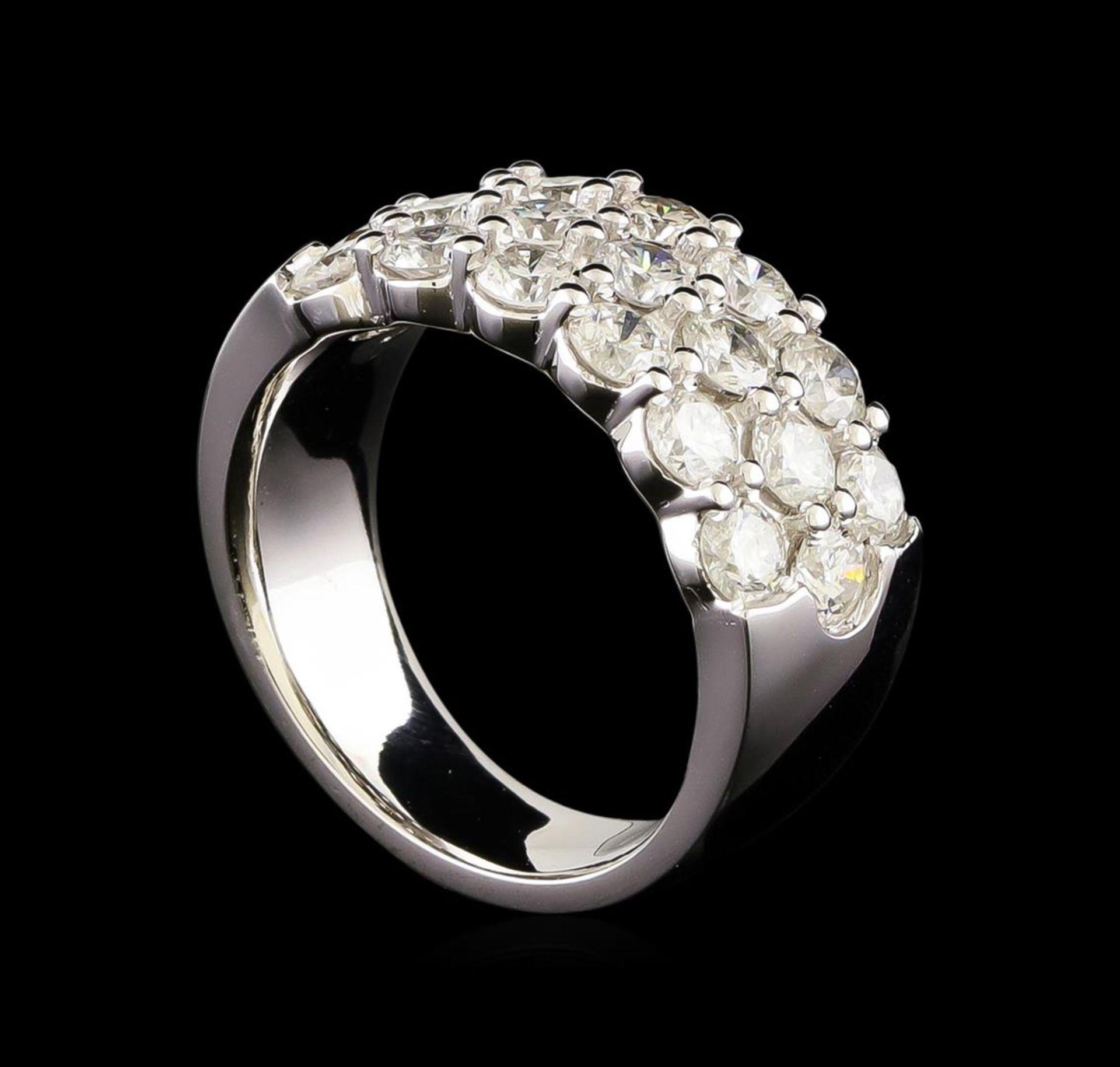 14KT White Gold 2.98 ctw Diamond Ring - Image 4 of 5