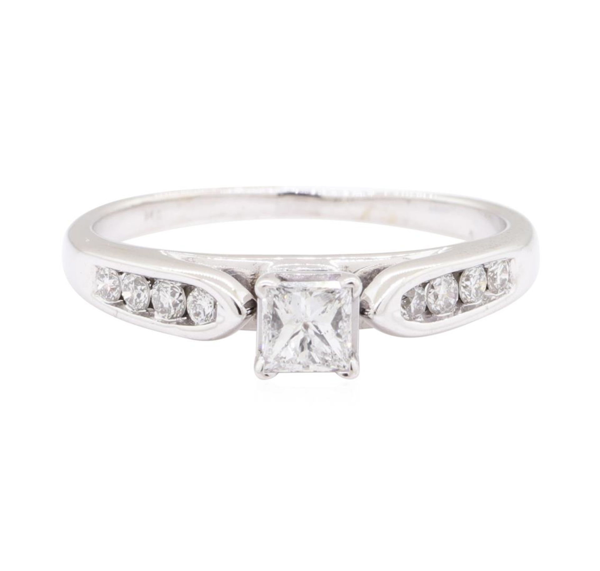 0.70 ctw Diamond Ring - 14KT White Gold - Image 2 of 4