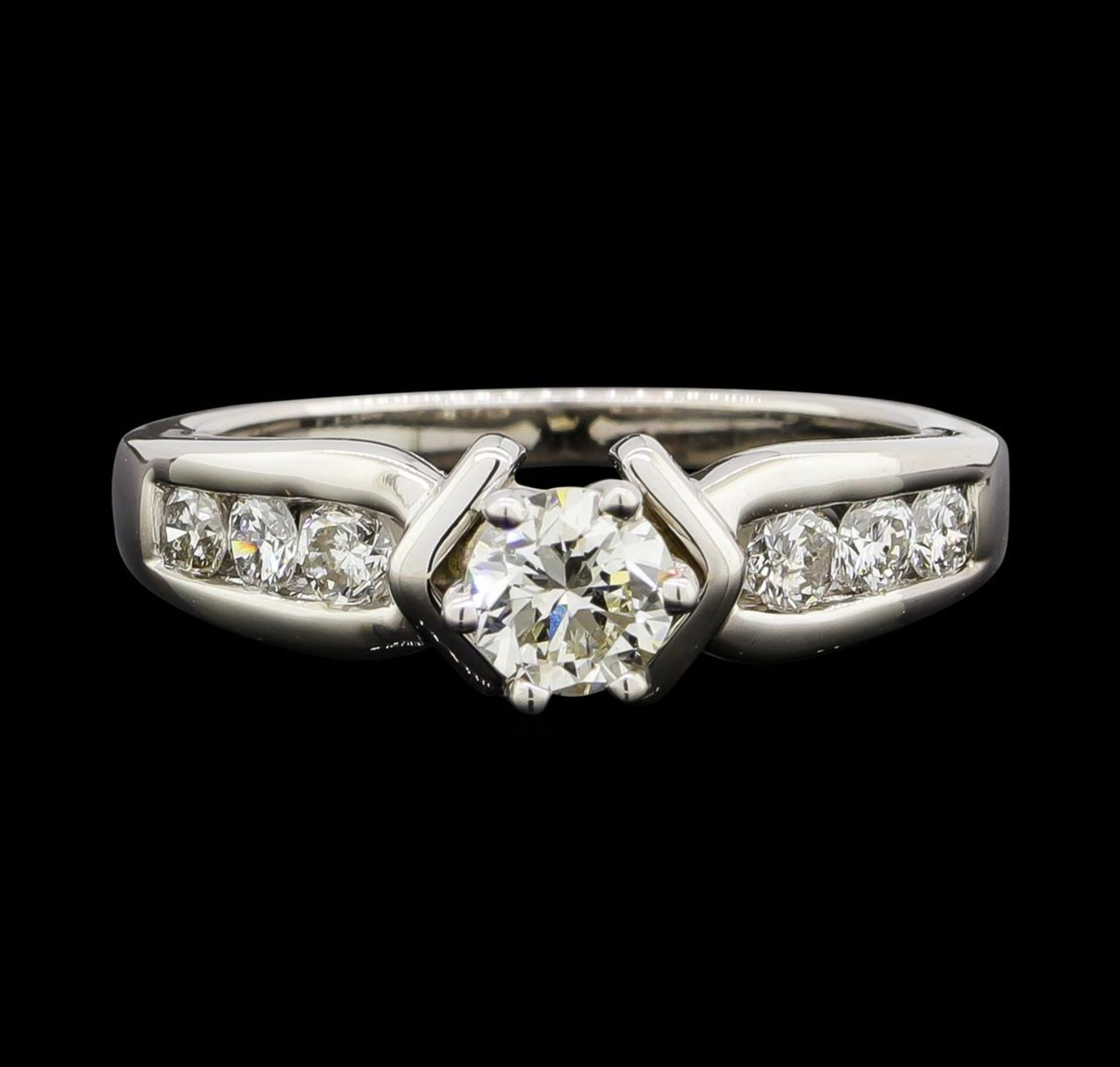 0.80 ctw Diamond Ring - 14KT White Gold - Image 2 of 4