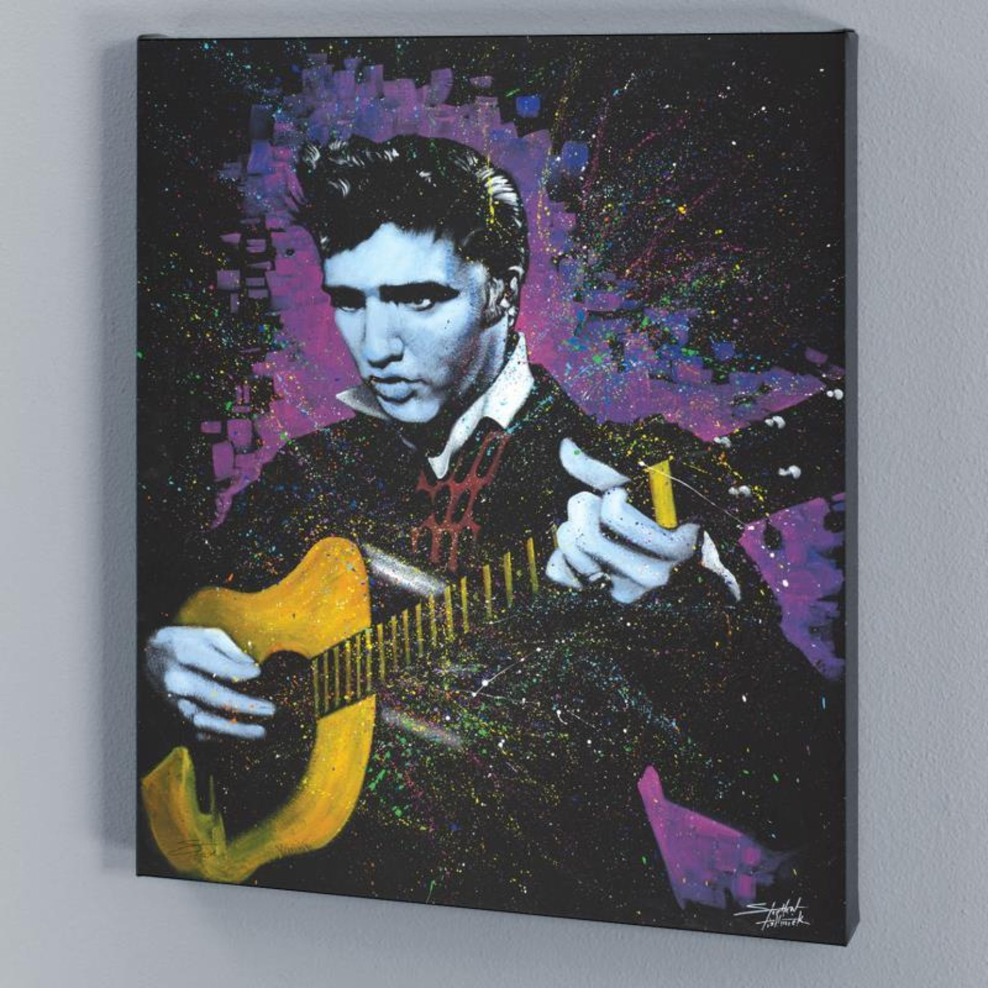 """""""A Young King"""" Limited Edition Giclee on Canvas by Stephen Fishwick, Numbered an - Image 2 of 2"""
