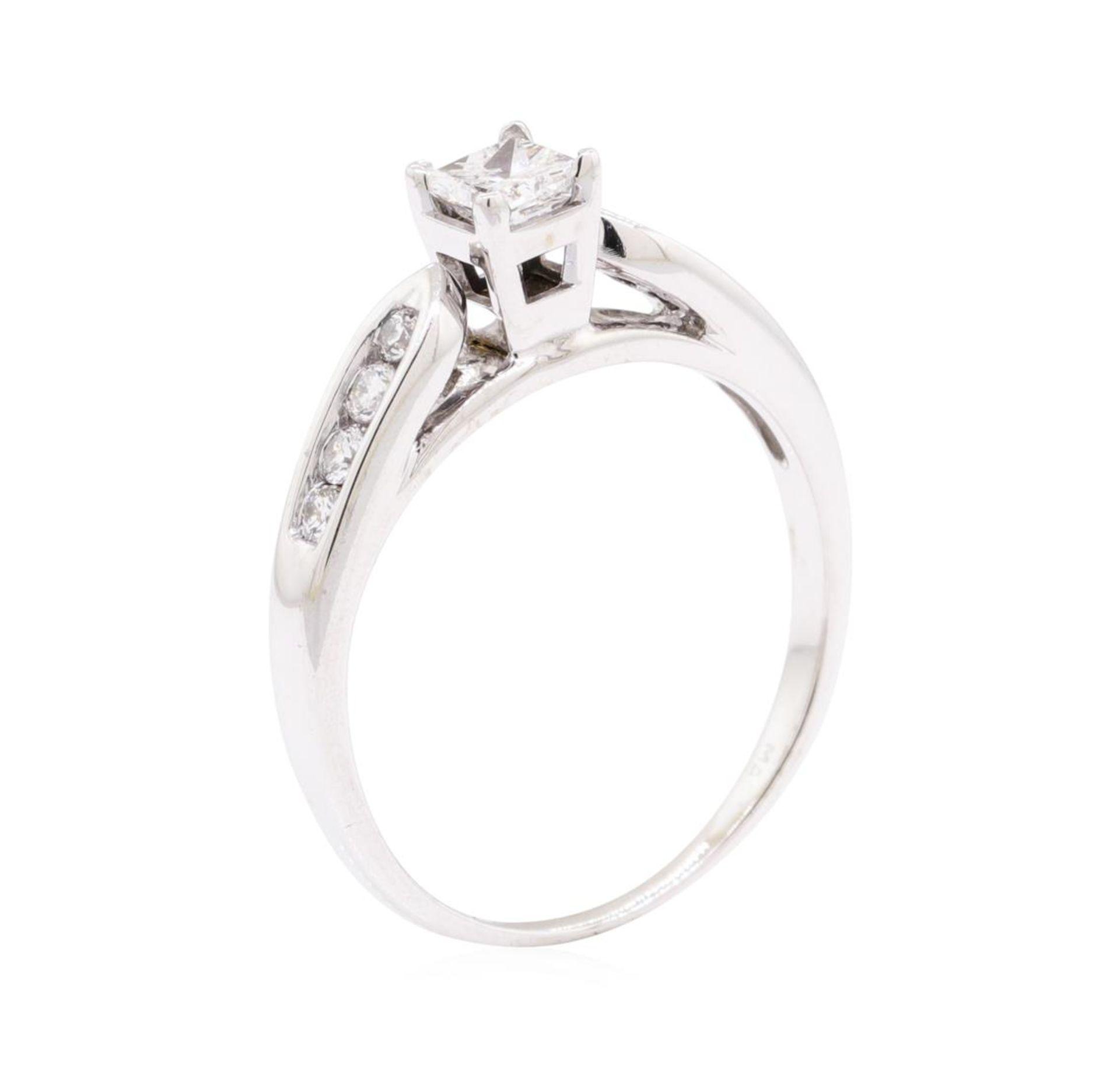 0.70 ctw Diamond Ring - 14KT White Gold - Image 4 of 4