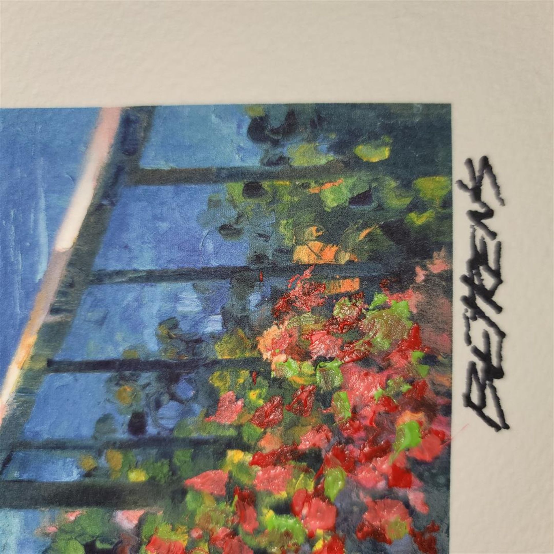 """Sunlit Stroll"" by Howard Behrens - Signed, Numbered, & Embellished - Image 2 of 4"