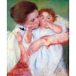Mary Cassatt - Anne Klein, From The Mother Embraces Casatt