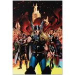 "Marvel Comics ""Thor #82"" Numbered Limited Edition Giclee on Canvas by Steve Epti"