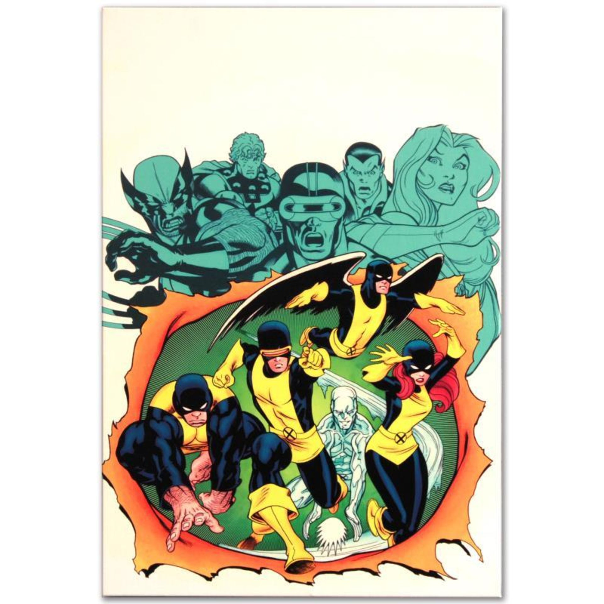 """Marvel Comics """"X-Men Giant-Size #1"""" Numbered Limited Edition Giclee on Canvas by"""