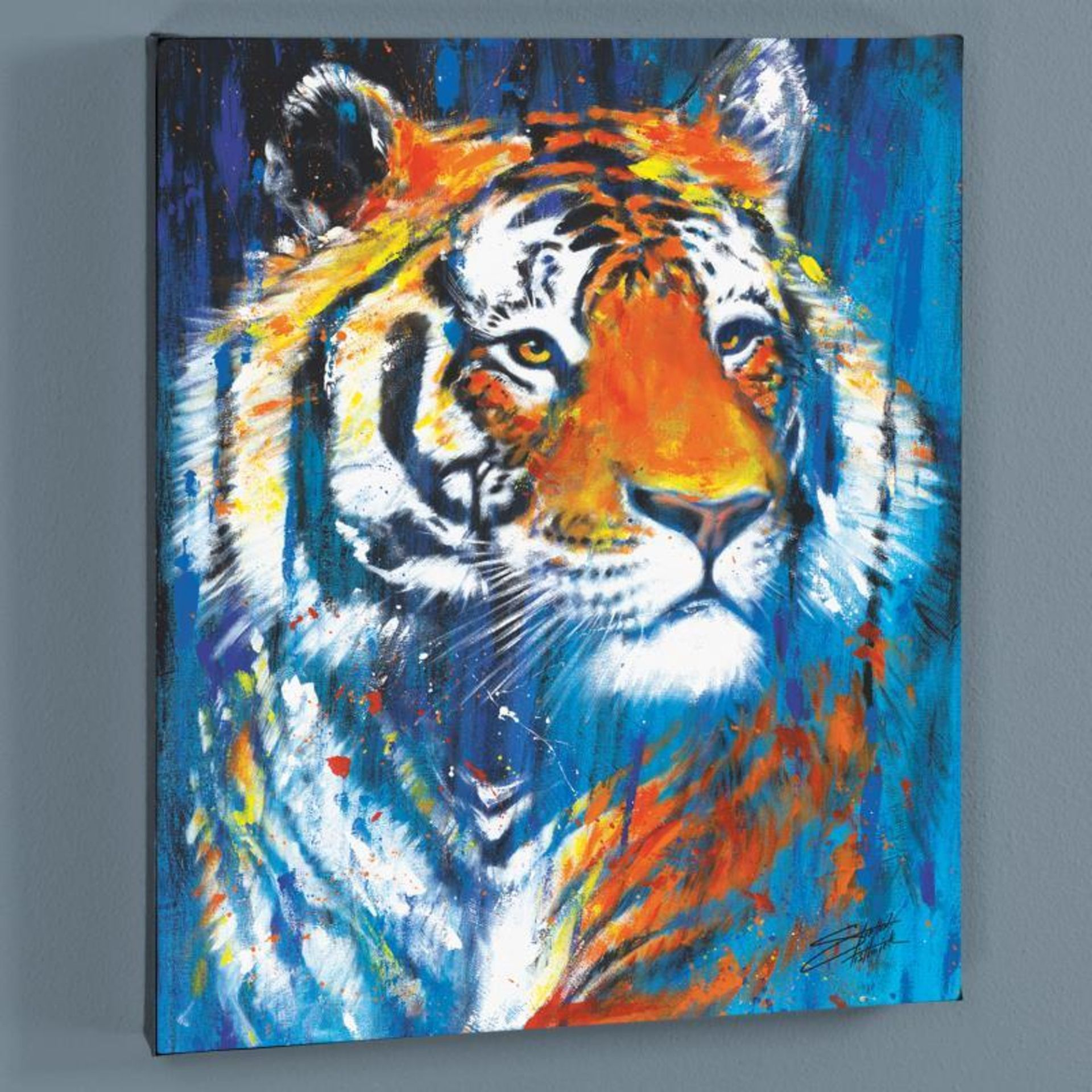 """Nala"" Limited Edition Giclee on Canvas by Stephen Fishwick, Numbered and Signed - Image 3 of 3"