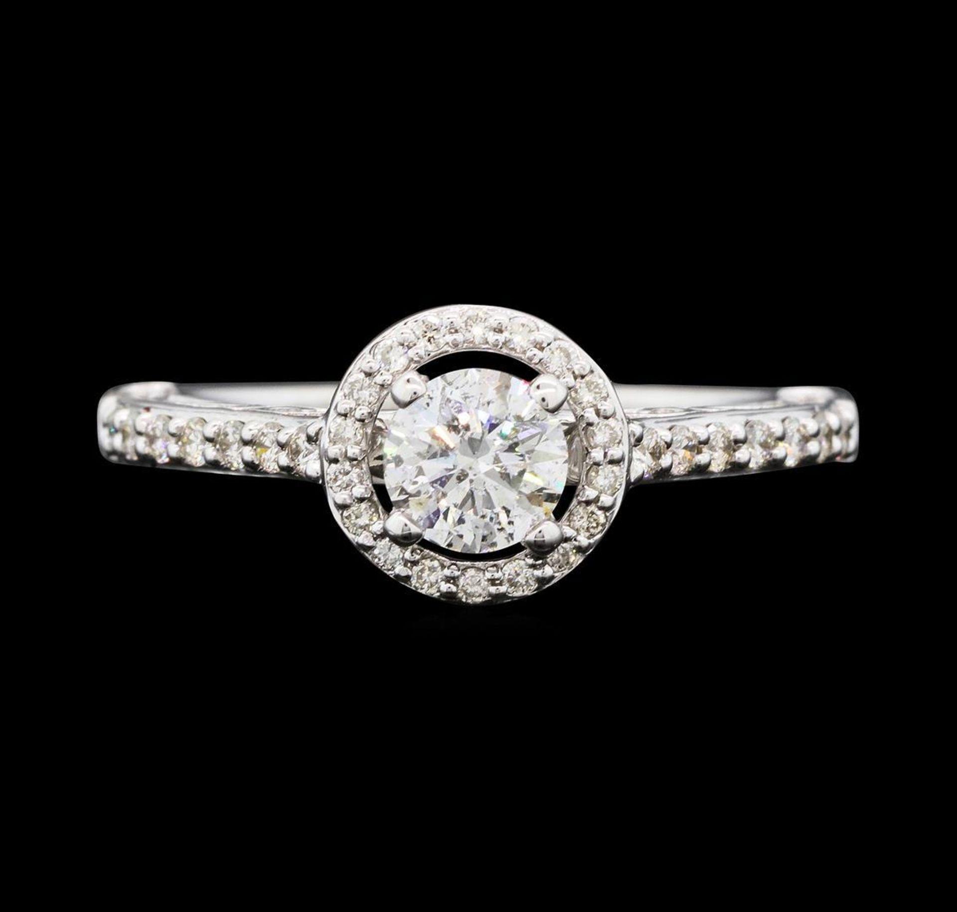 0.79 ctw Diamond Ring - 14KT White Gold - Image 2 of 5