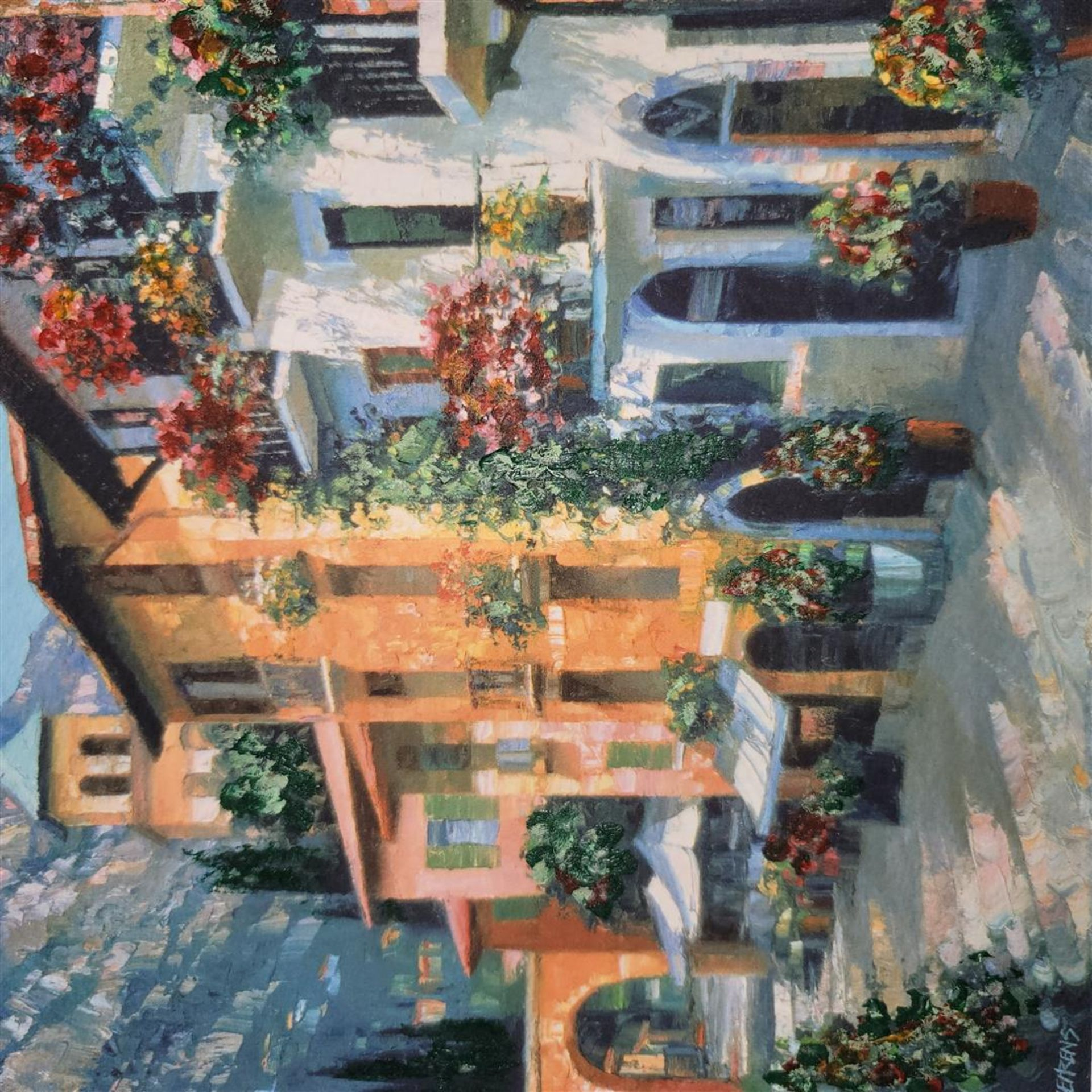"""Village Hideaway"" by Howard Behrens - Signed, Numbered, & Embellished - Image 4 of 4"