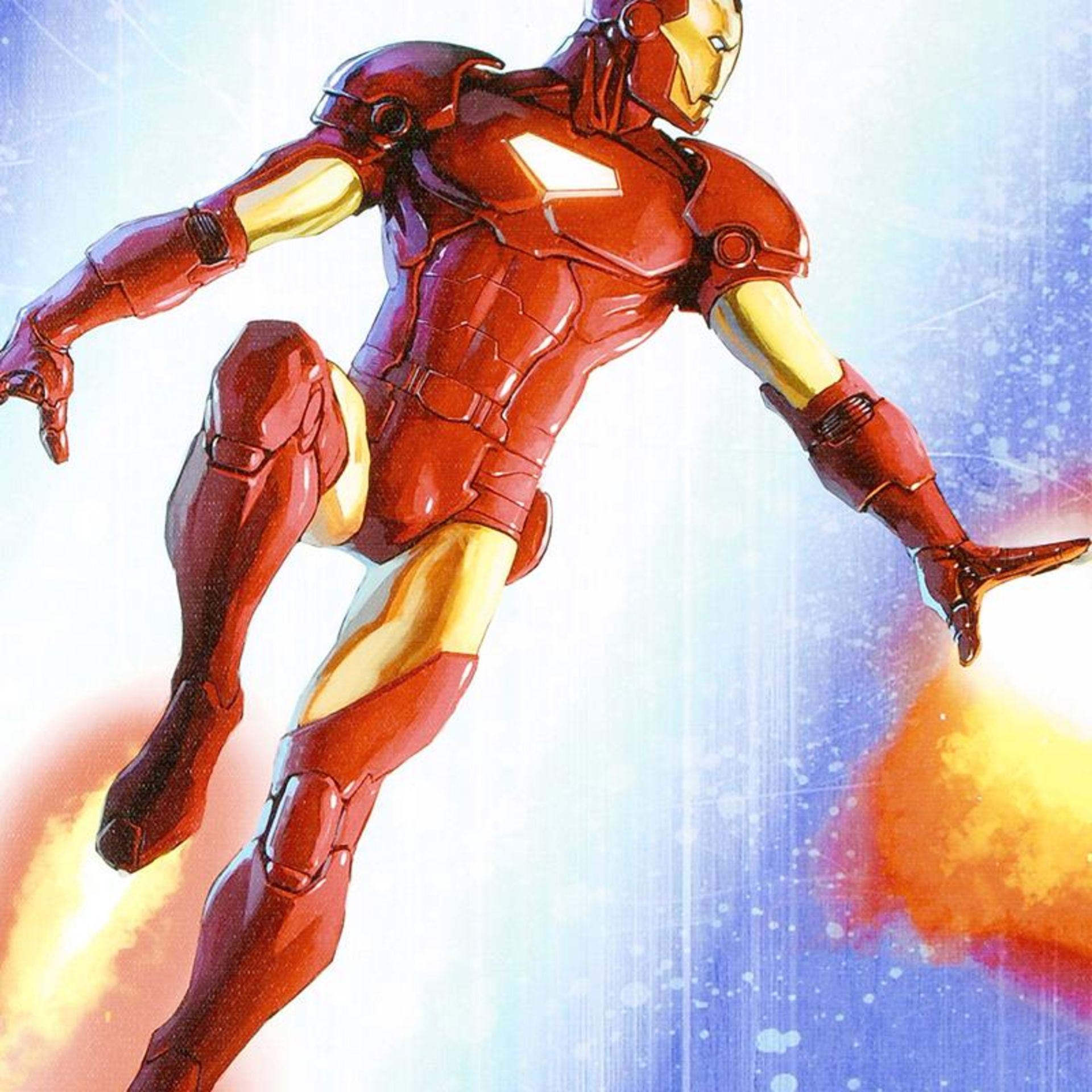 """Stan Lee Signed, """"Iron Man & The Armor Wars #3"""" Numbered Marvel Comics Limited E - Image 2 of 2"""