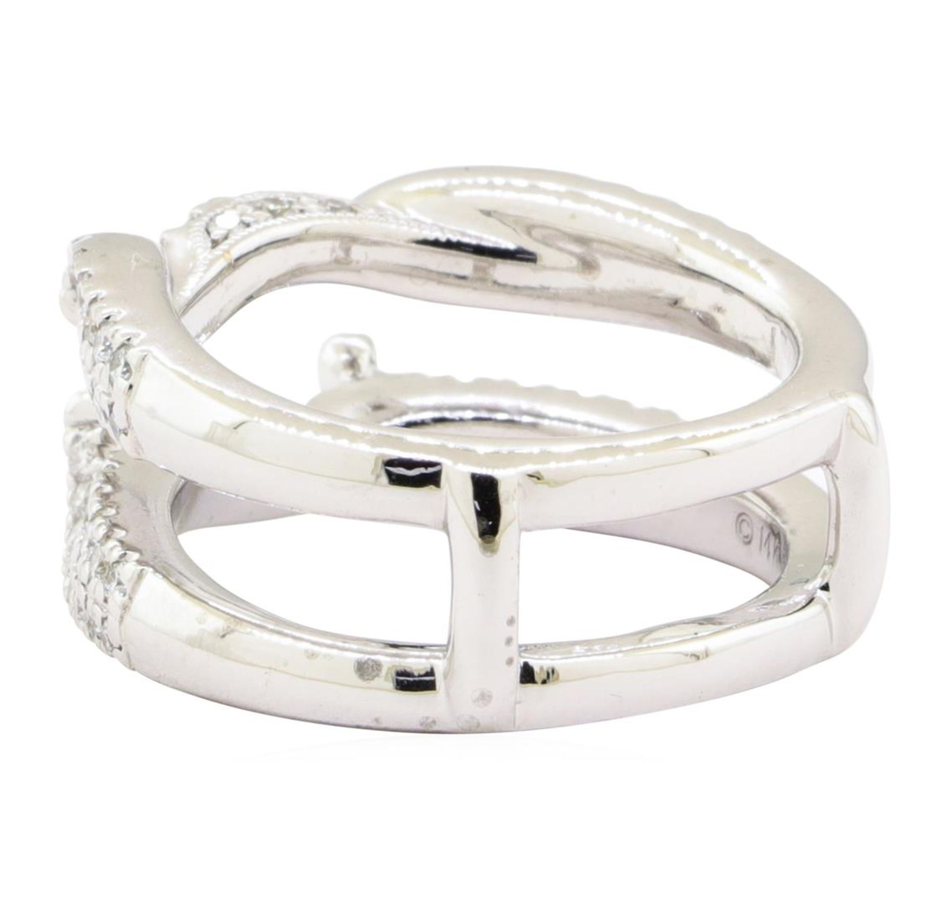 0.70 ctw Diamond Ring Guard - 14KT White Gold - Image 3 of 4