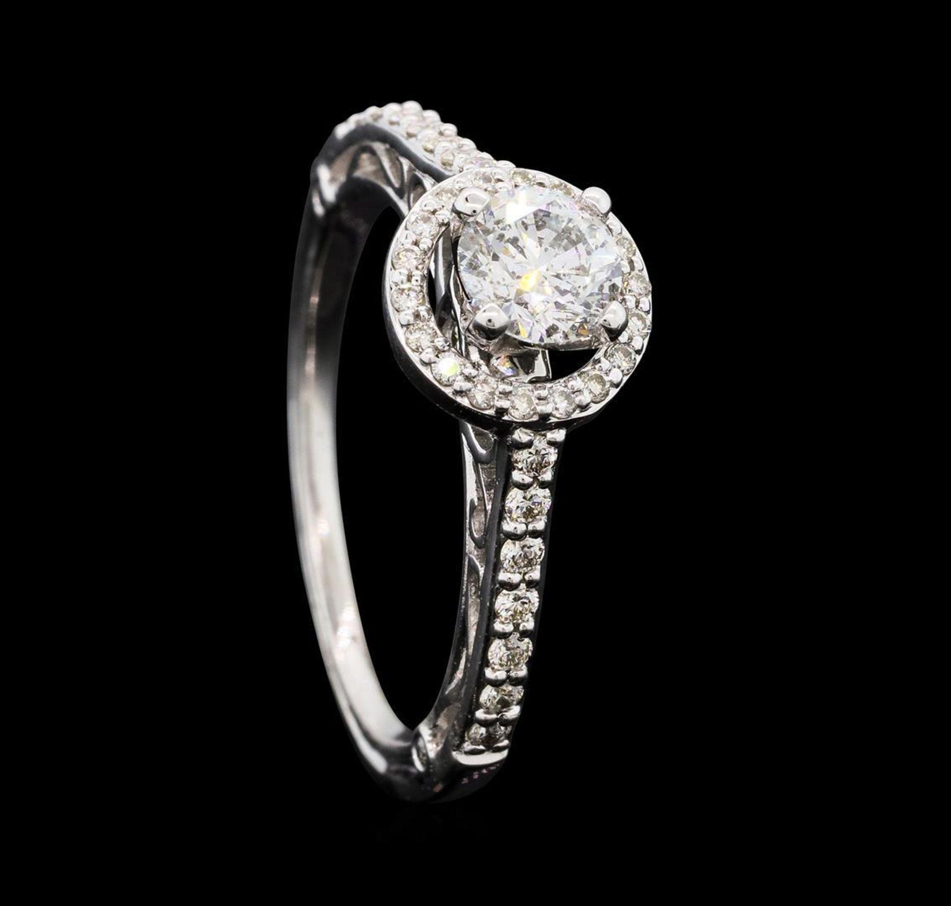 0.79 ctw Diamond Ring - 14KT White Gold - Image 4 of 5
