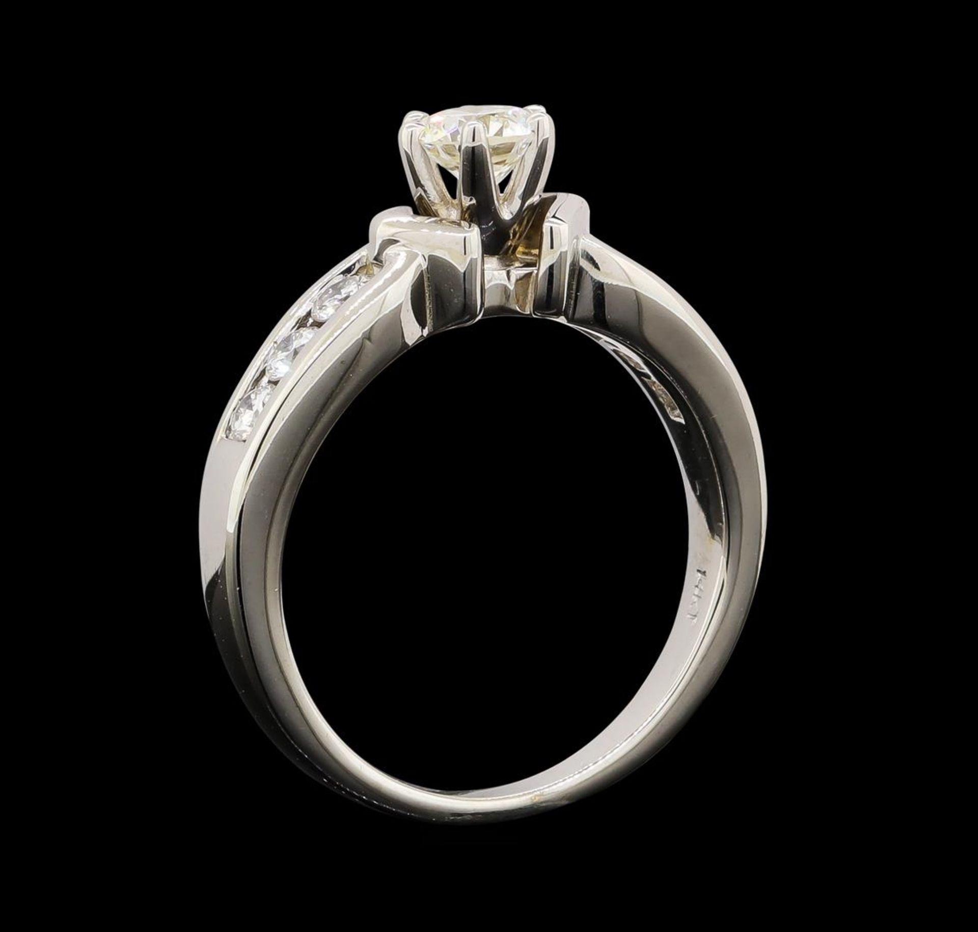 0.80 ctw Diamond Ring - 14KT White Gold - Image 4 of 4