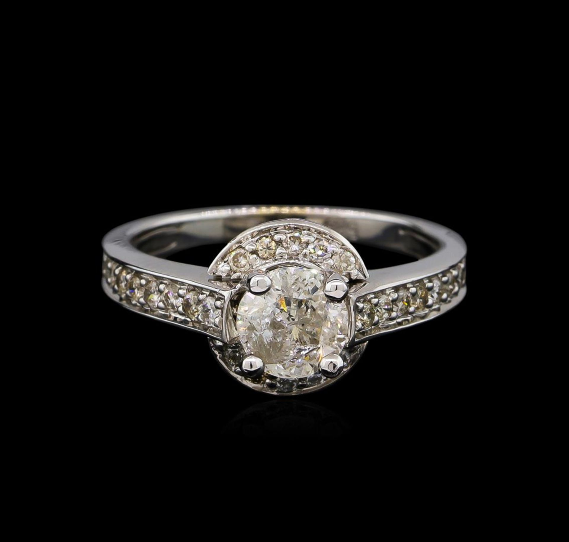 14KT White Gold 1.12 ctw Diamond Ring - Image 2 of 5