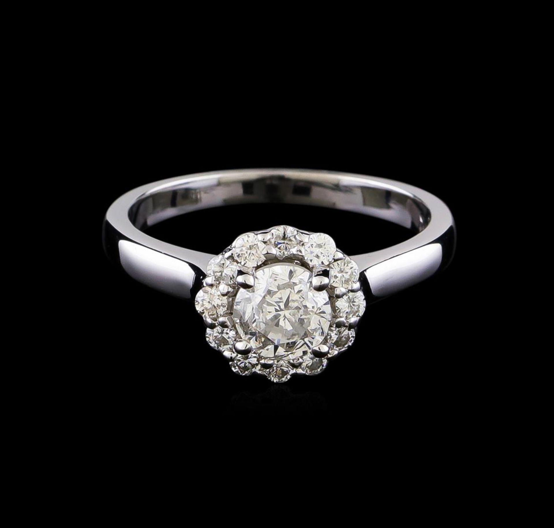 0.99 ctw Diamond Ring - 14KT White Gold - Image 2 of 5