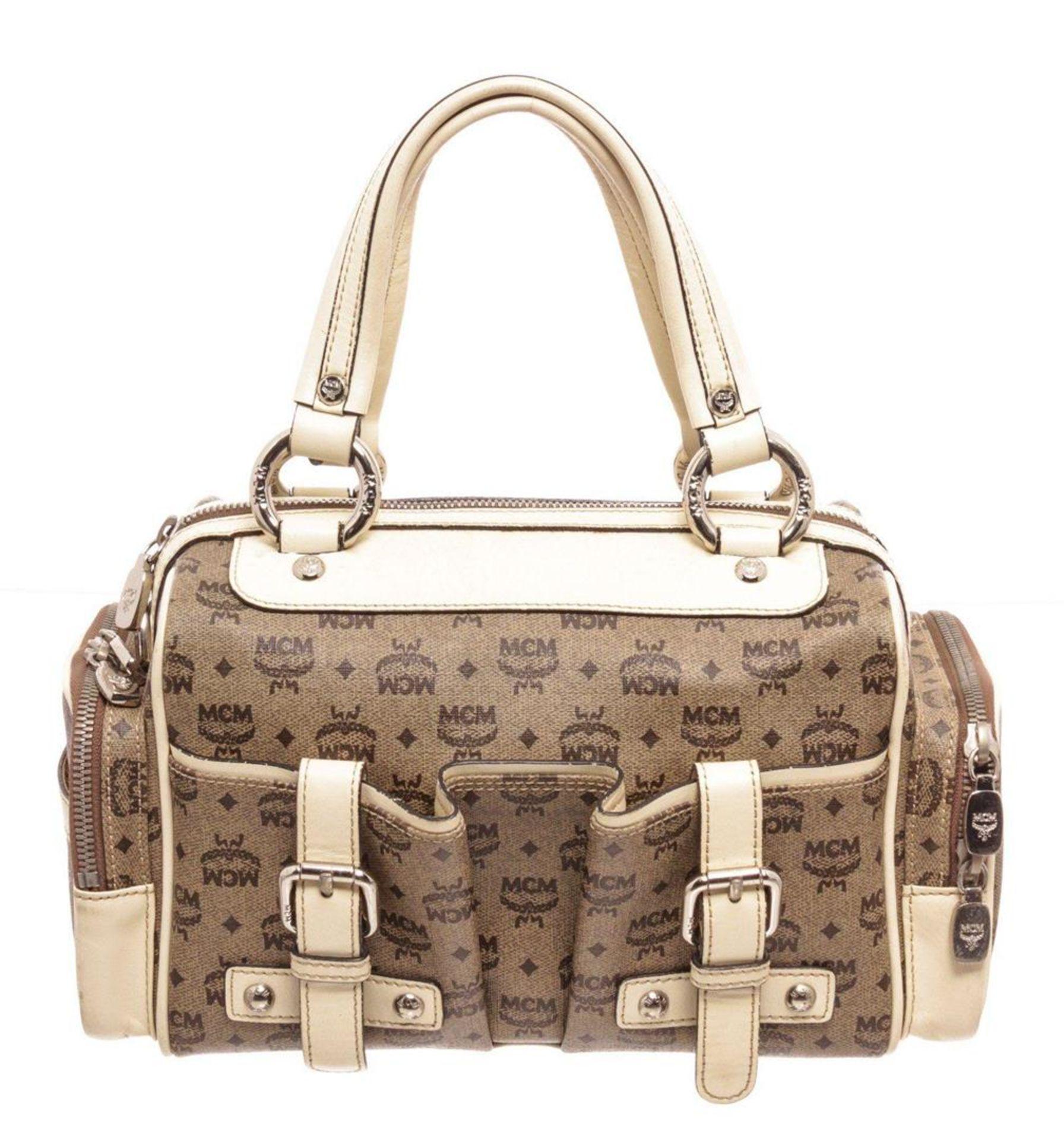 MCM Brown Tote Bag