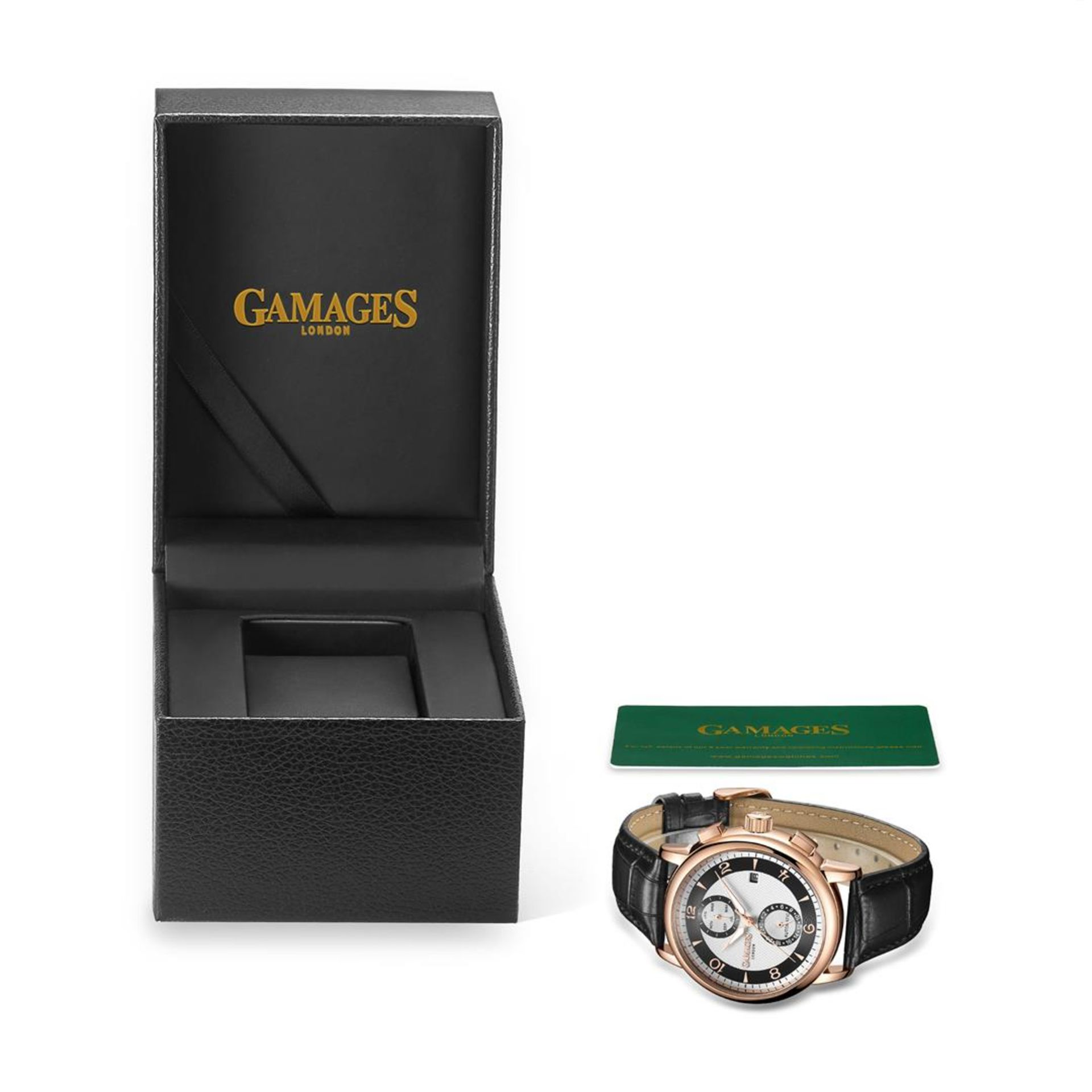 GAMAGES OF LONDON Limited Edition Hand Assembled Mystique Automatic Silver - Image 2 of 5