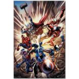 "Marvel Comics ""Avengers #12.1"" Numbered Limited Edition Giclee on Canvas by Brya"