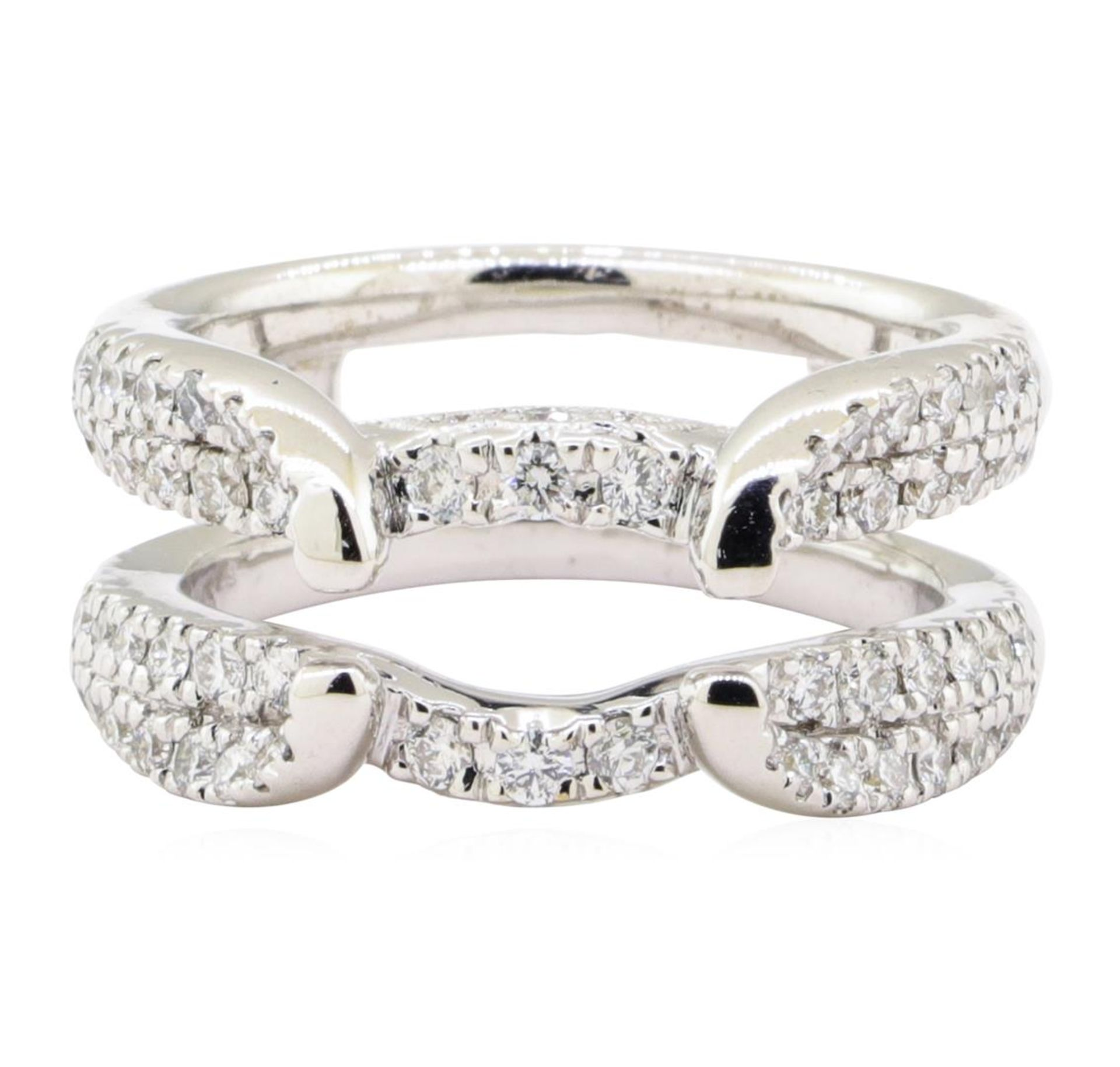 0.70 ctw Diamond Ring Guard - 14KT White Gold - Image 2 of 4