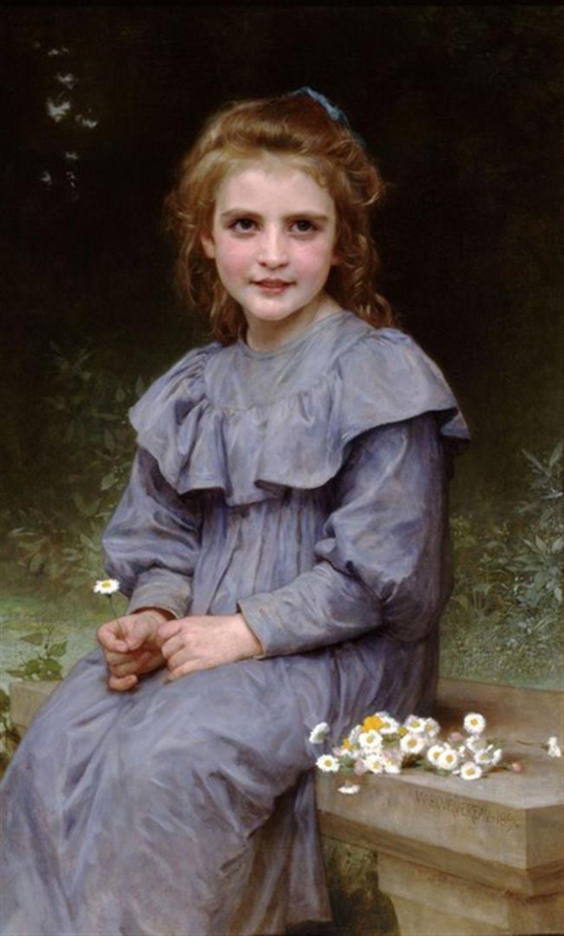 William Bouguereau - Daisies