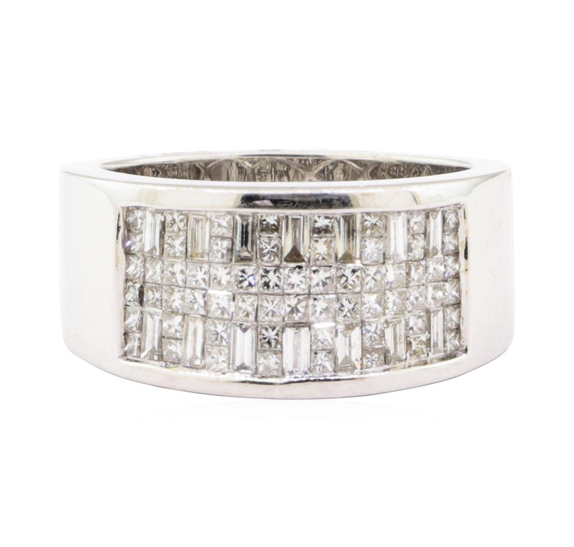 1.07 ctw Diamond Ring - 18KT White Gold - Image 2 of 4