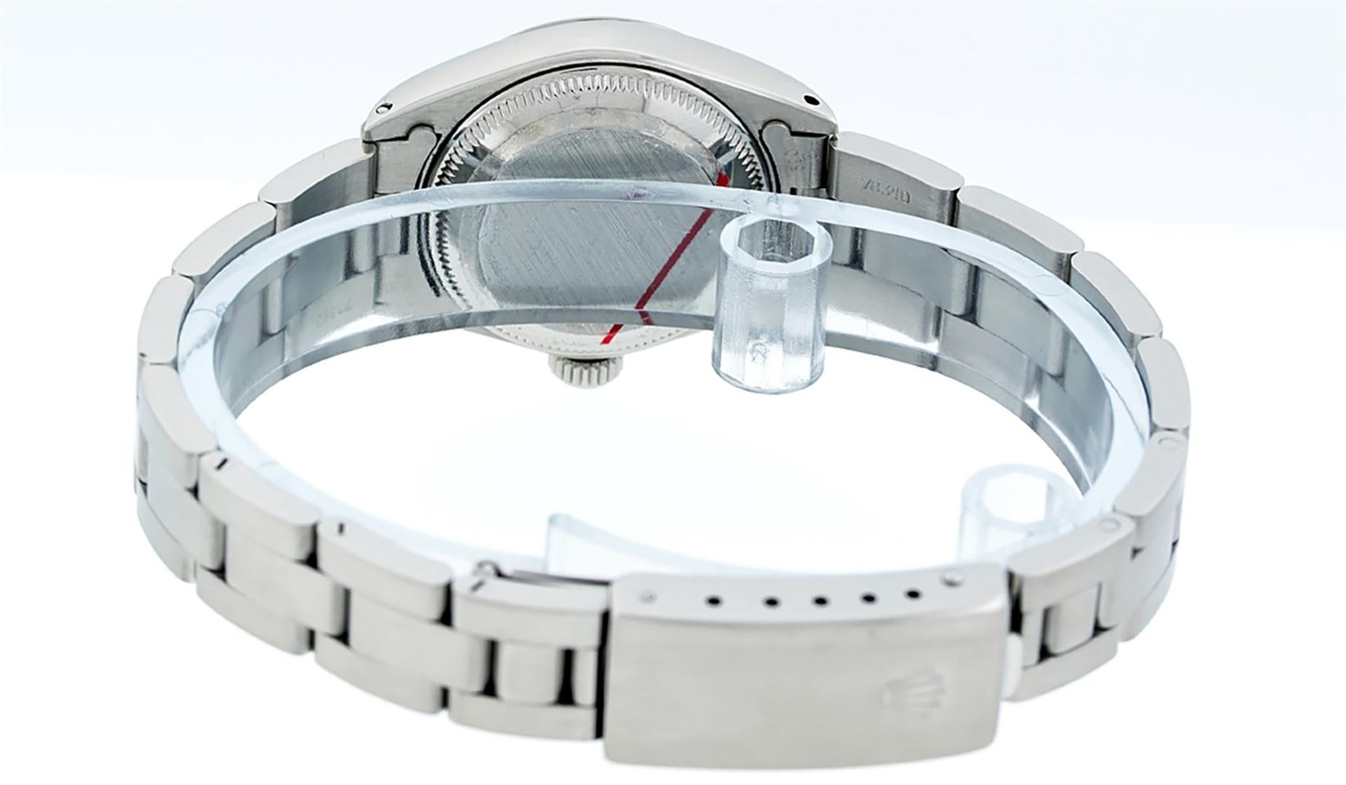 Rolex Ladies Stainless Steel Salmon Dial 26MM Oyster Band Datejust Wristwatch - Image 8 of 9