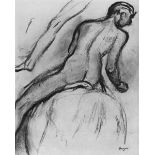 Edgar Degas - Nude Rider