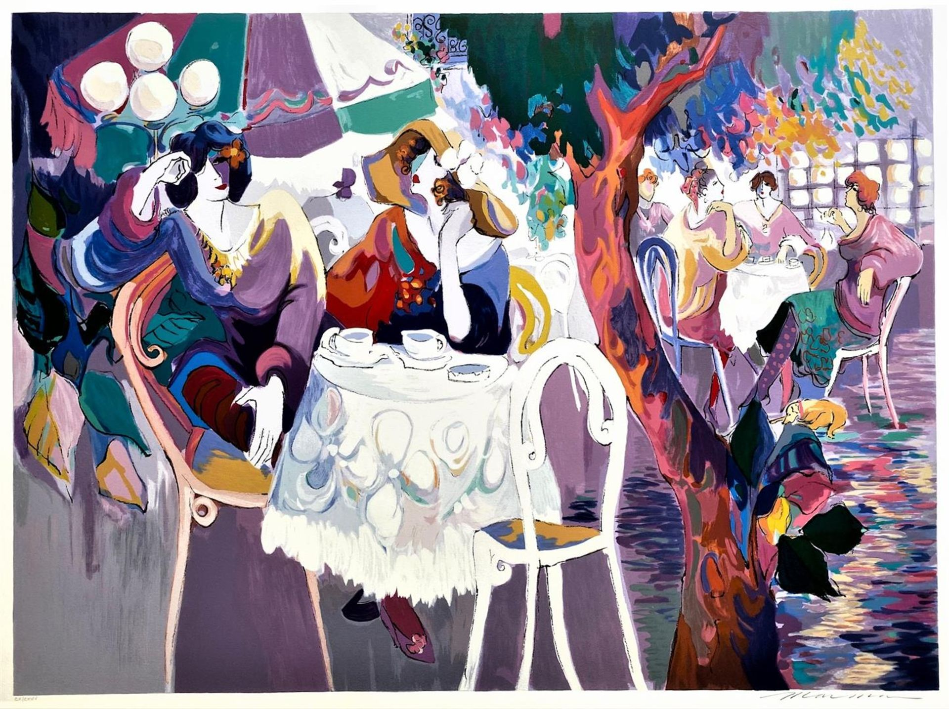 """Isaac Maimon """"West Bank Cafe"""""""