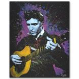 """A Young King"" Limited Edition Giclee on Canvas by Stephen Fishwick, Numbered an"