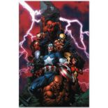 "Marvel Comics ""New Avengers #1"" Numbered Limited Edition Giclee on Canvas by Dav"