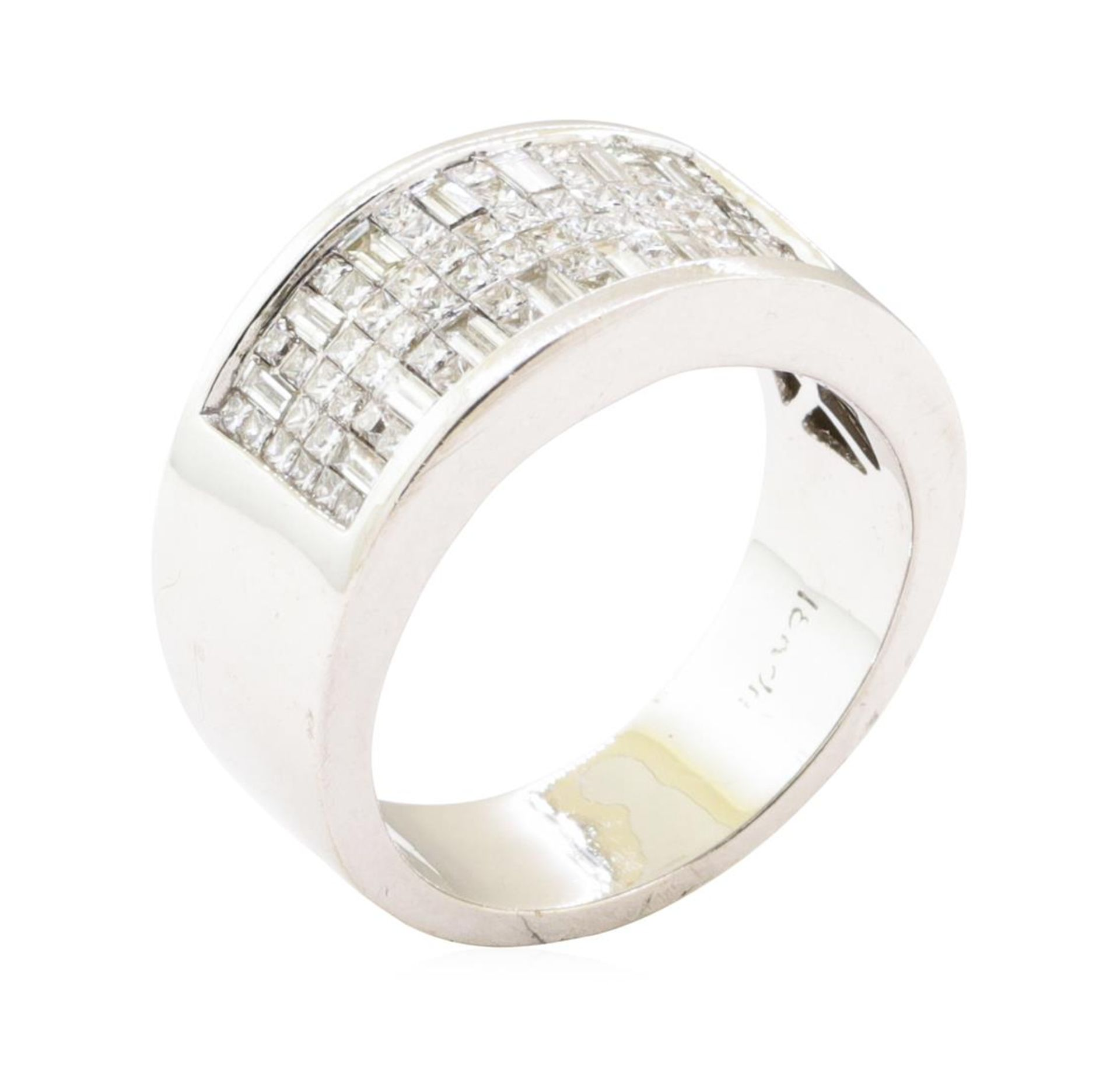 1.07 ctw Diamond Ring - 18KT White Gold - Image 4 of 4