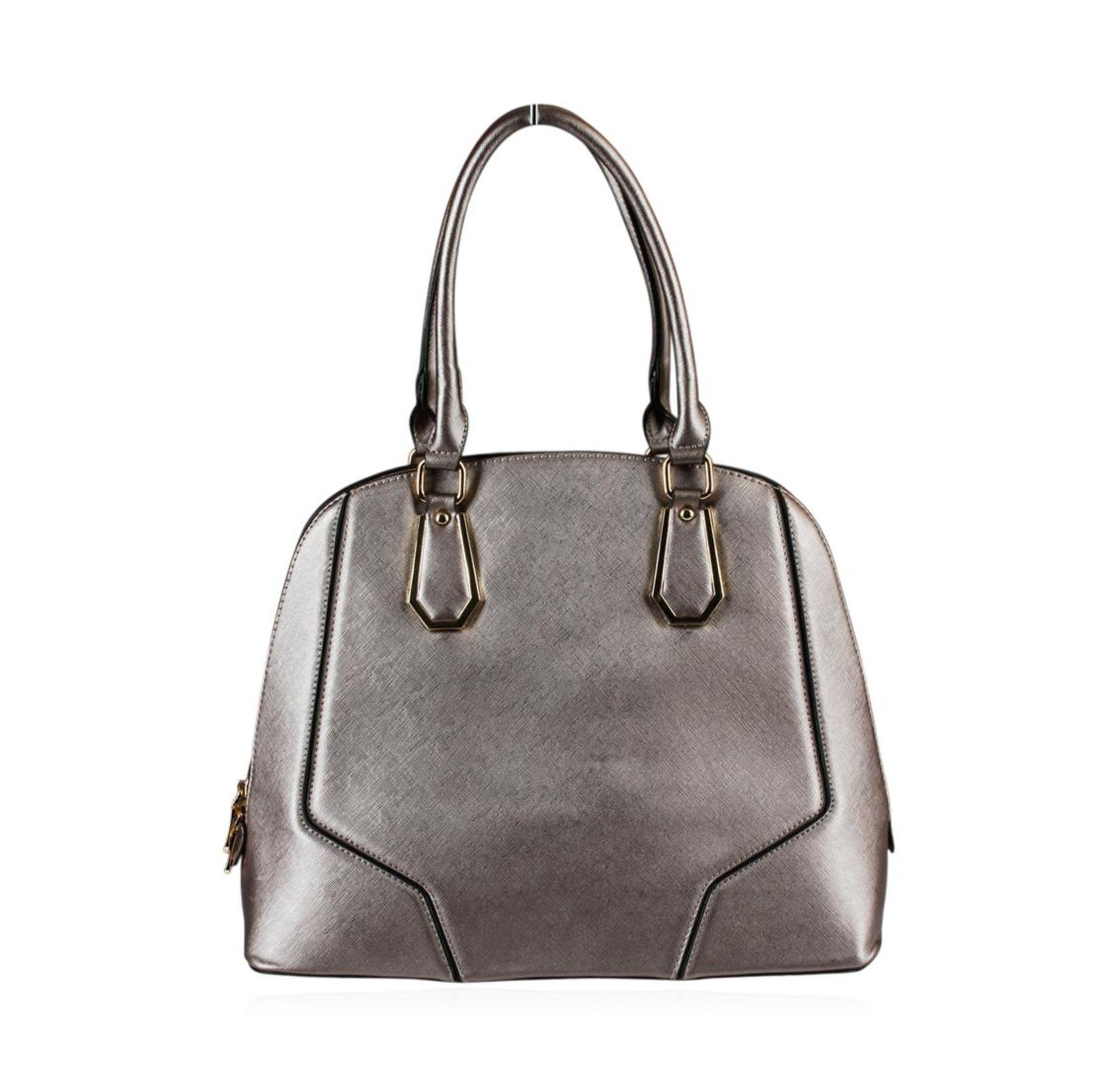 Metallic Silver Rush Handbag - Image 2 of 3