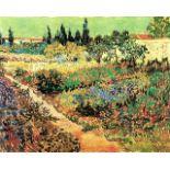 Van Gogh - Flowering Garden With Path