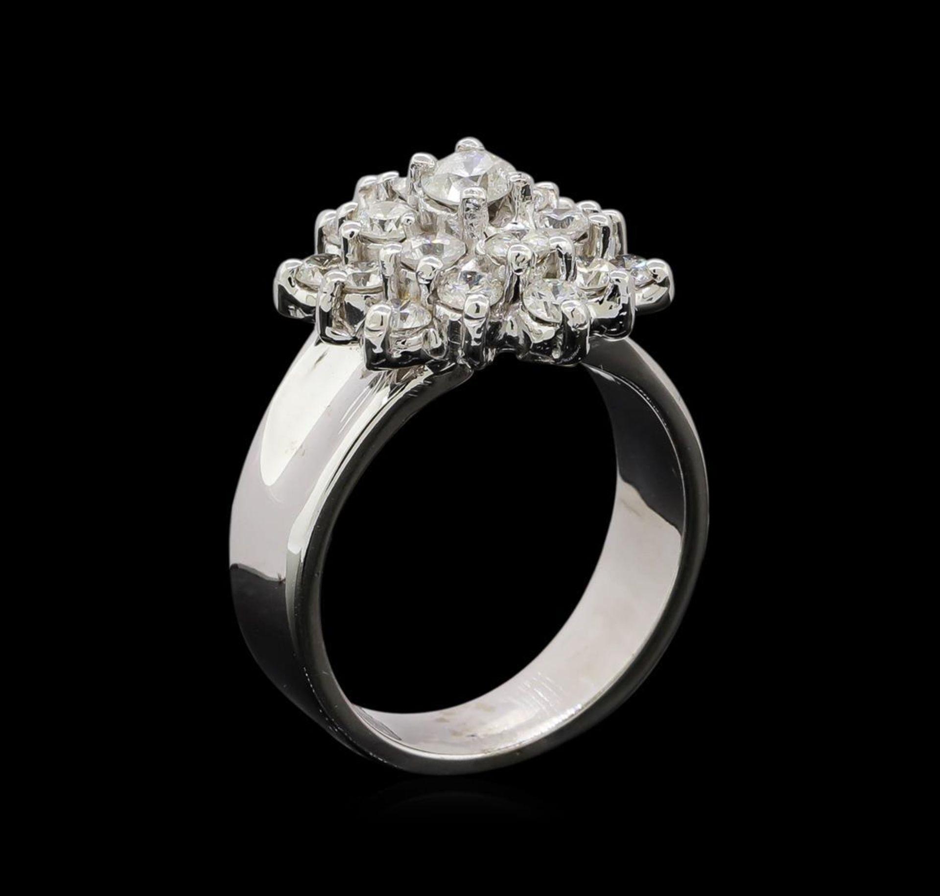 14KT White Gold 1.55 ctw Diamond Ring - Image 4 of 5