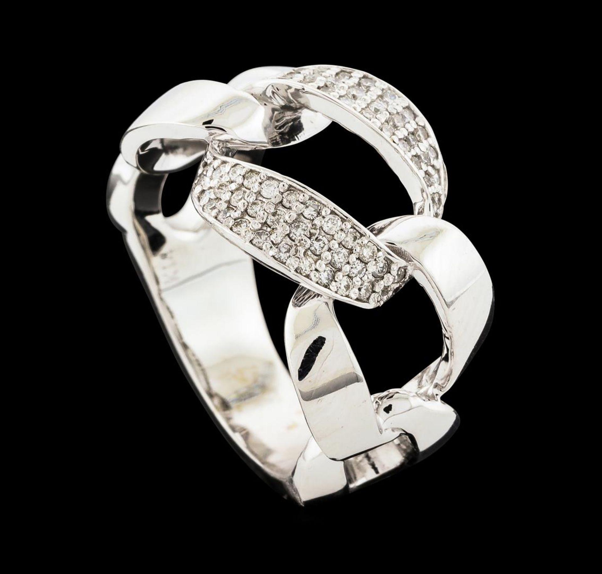 0.33 ctw Diamond Ring - 14KT White Gold - Image 4 of 4