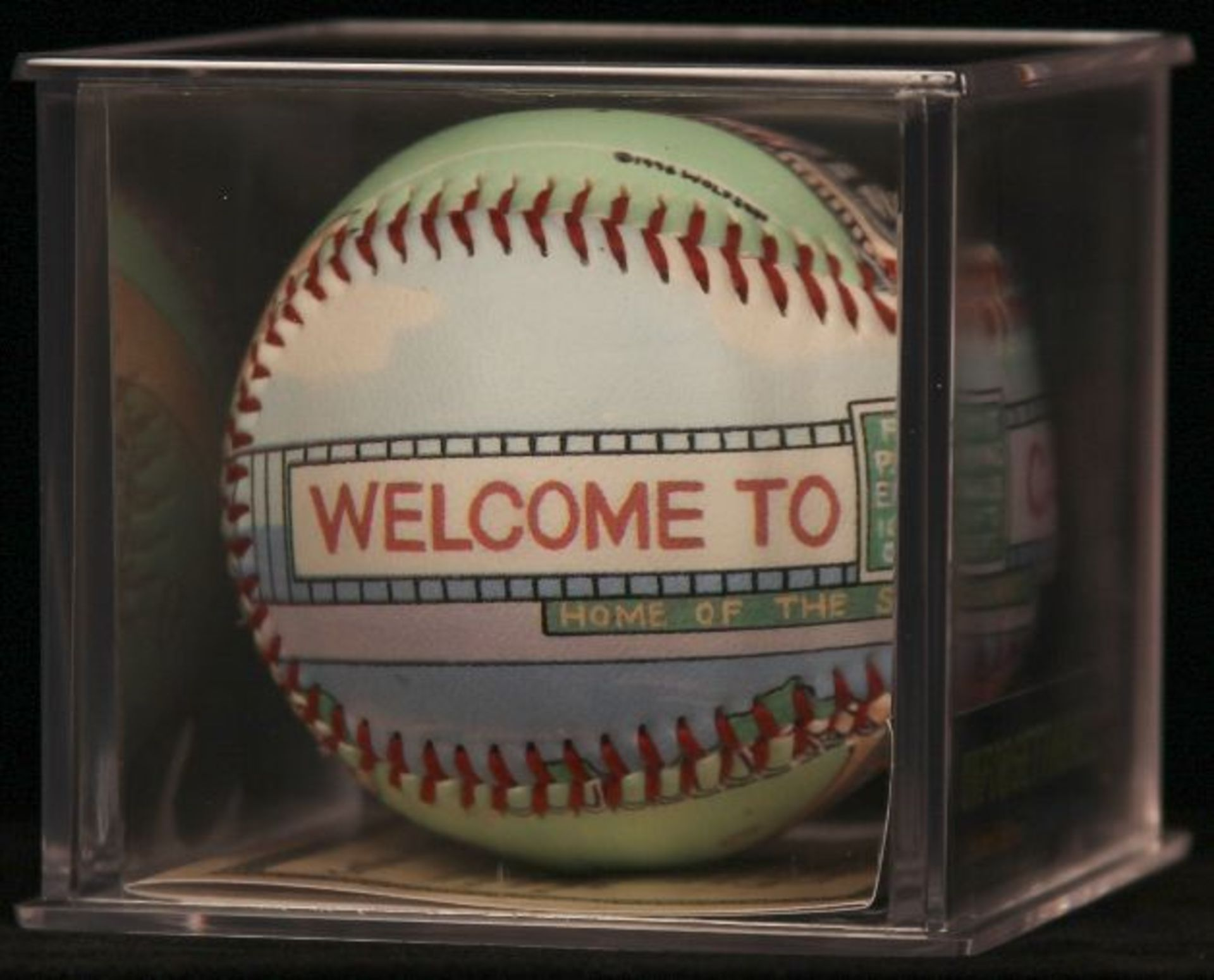 "Unforgettaball! ""Candlestick Park"" Collectable Baseball - Image 2 of 6"