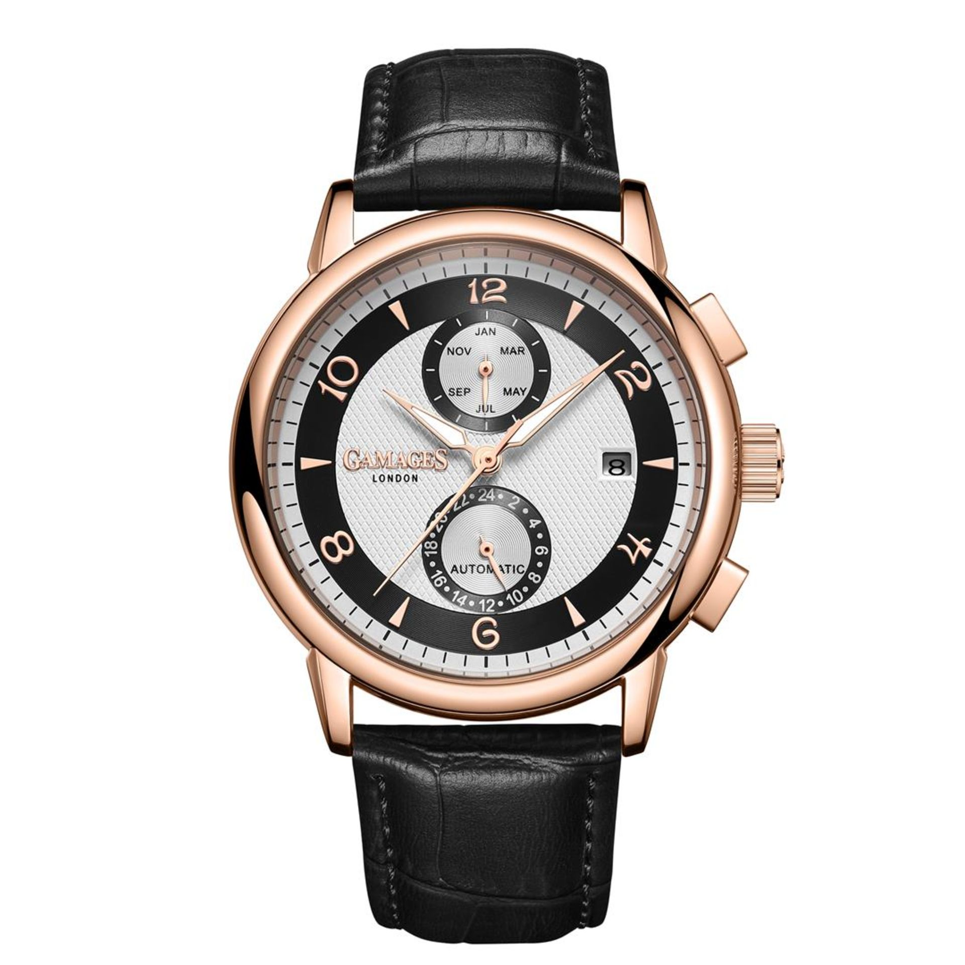 GAMAGES OF LONDON Limited Edition Hand Assembled Mystique Automatic Silver - Image 3 of 5