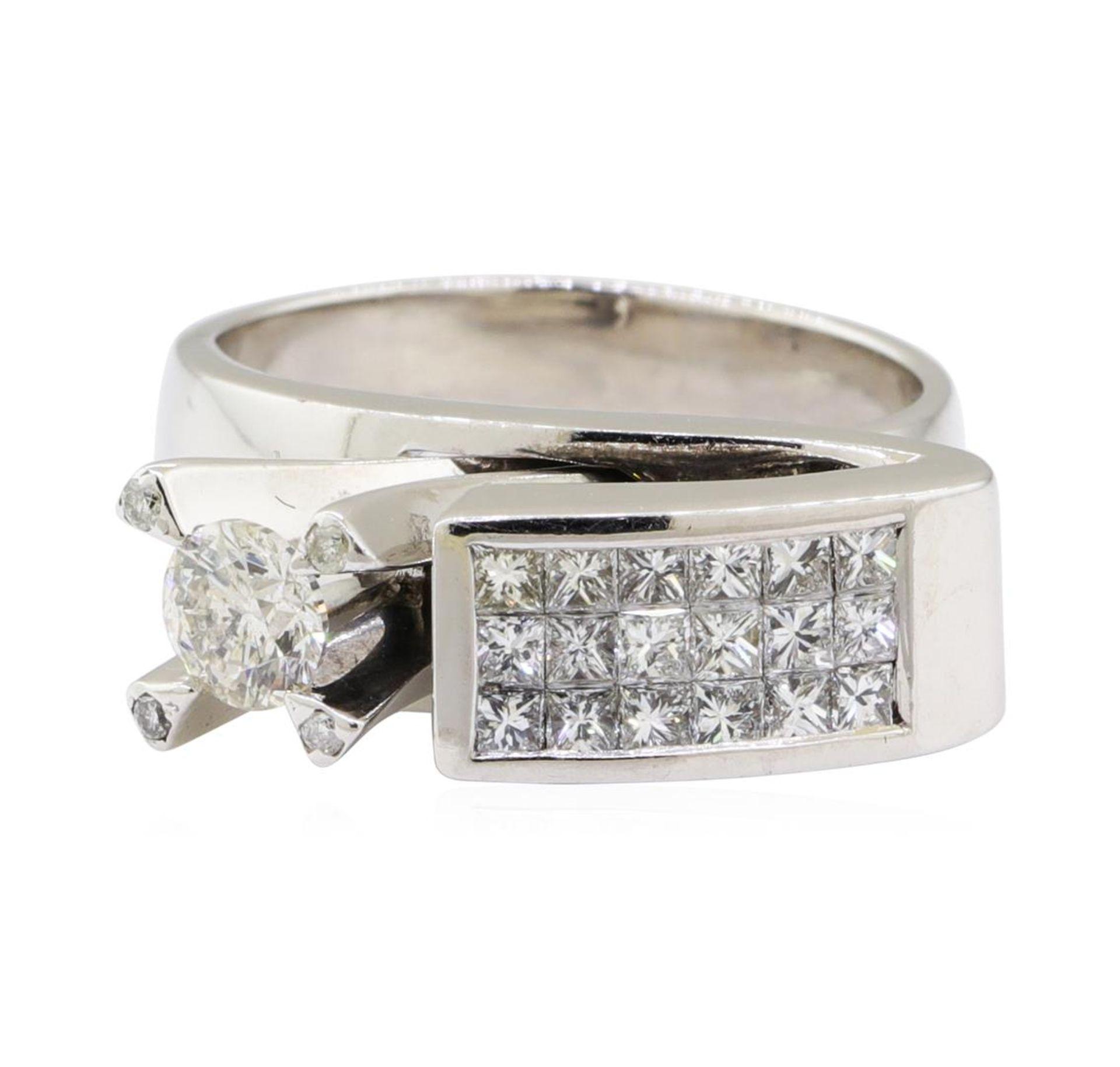 1.29 ctw Diamond Ring - 14KT White Gold - Image 2 of 5