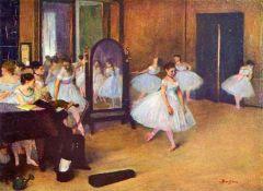 Edgar Degas - The Dance Hall