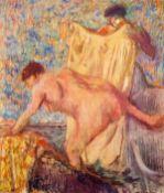 Edgar Degas - Withdrawing From The Bathtub