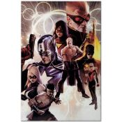 """Marvel Comics """"The Mighty Avengers #30"""" Extremely Numbered Limited Edition Gicle"""