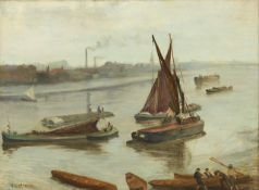 Whistler - Grey and Silver - Old Battersea Reach