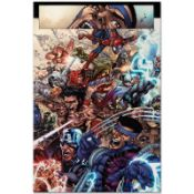 """Marvel Comics """"Avengers: The Initiative #19"""" Numbered Limited Edition Giclee on"""
