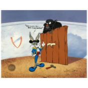 """Bugs and Gulli-Bull"" Limited Edition Animation Cel by Chuck Jones (1912-2002)."