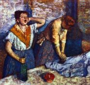 Edgar Degas - Two Cleaning Women