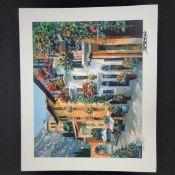 """Village Hideaway"" by Howard Behrens - Signed, Numbered, & Embellished"
