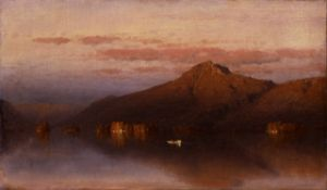 Sanford Gifford - Whiteface Mountain from Lake Placid