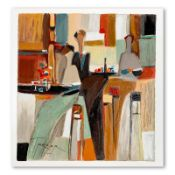 """Yuri Tremler, """"Evening Out"""" Limited Edition Serigraph, Numbered and Hand Signed"""