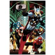 "Marvel Comics ""Avengers #5"" Numbered Limited Edition Giclee on Canvas by John Ro"