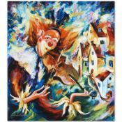 """Leonid Afremov (1955-2019) """"For Fun"""" Limited Edition Giclee on Canvas, Numbered"""