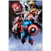"""Marvel Comics """"Avengers #99 Annual"""" Numbered Limited Edition Giclee on Canvas by"""